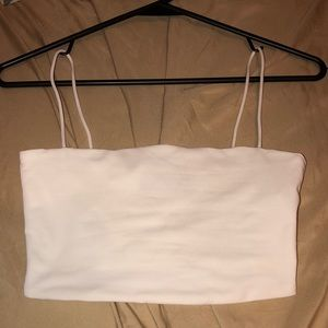 Cute little white crop top